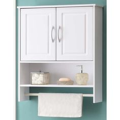 Bathroom wall storage cabinets - To mount a bathroom wall cabinet, starting with measure the space where the cabinet must be placed. Bathroom Wall Storage, Wall Storage Cabinets, Bathroom Wall Cabinets, Cabinet Shelving, Bathroom Furniture, Wall Shelves, Shelf, Bathroom Rack, Bathroom Closet