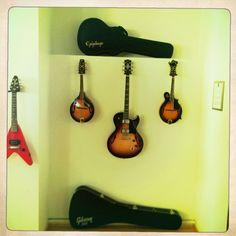 Gibson guitar room