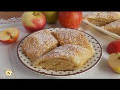 Mini strudele cu mere si nuca | JamilaCuisine - YouTube