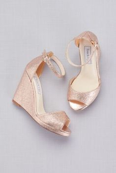 61d6871b9b4b Ankle-Strap Peep-Toe Wedges HOLLY Wedding Wedges