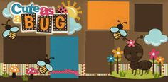 Cute As A Bug Girl Page Kit-Out on a Limb Scrapbooking