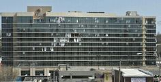 The Hilton in Branson after the Leap Day tornado.