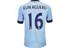 Nike Aguero Manchester City Home Jersey 2014-15...available at SoccerPro right now.