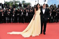 …OK sorry, I didn't think you were ready. Gather yourself. HERE IT IS: | Amal Clooney's Dress At Cannes Proves Why She Should Be Your Style Icon