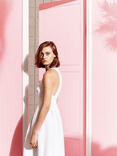 Tara Jarmon look Tara Jarmon, White Dress Summer, Summer Dresses, Vanilla Sky, Thing 1, Great Cuts, Powder Pink, Little Dresses, Fun Prints