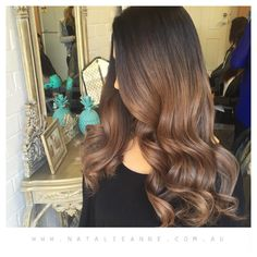 """""""Good morning from the @natalieannehair team coloured by @elliemareehair"""""""