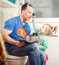Dads that have mastered this parenting thing (22 Photos)