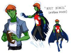 miss martian genderbend -