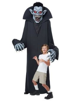 4b0e6ec60752 Towering Terror Vampre Costume Scary Vampire Yard Decoration One Size Fits  Most (eBay Link)