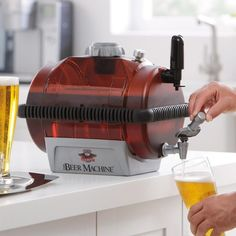 Beer Machine Home Beer Making Kit / By reinventing the historic process of brewing beer at home, the Beer Machine Home Beer Making Kit has made this entire method easy and stress free. http://thegadgetflow.com/portfolio/beer-machine-home-beer-making-kit/