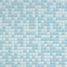 #Bisazza #Blends #Opus Romano 12x12 mm Azzurra   #Glass   on #bathroom39.com at 196 Euro/box   #mosaic #bathroom #kitchen