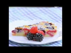 What do we have for tonight's dessert? We want you to make this famous baked traditional dish known as a tart. The recipe we recommend combines the special texture of the tart pastry with the colorful and textured forest fruits - blackberries and raspberries.