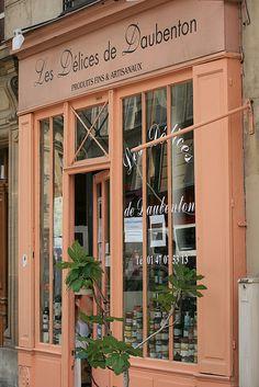 Shop Front, rue Daubenton? By 'bruvvaleeluv' via mahala knight