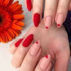 42 Charming red Nail Art Designs To Try This summer nails; - Nail designs 42 Charming red Nail Art Designs To Try This summer nails; Nails Yellow, Purple Nail, Red Nails, Red Summer Nails, Red Manicure, Burgendy Nails, Oxblood Nails, Magenta Nails, Pastel Nails