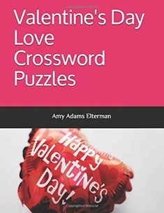 Crossword Puzzle Books, Amy Adams, Valentine Day Love, Amazon, Amazons, Riding Habit