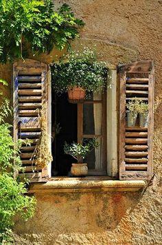 Wunderschöne alte Fassade!