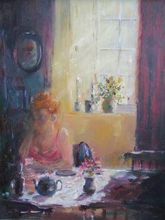 Art For Sale, Reflection, Oil, Watercolor, Board, Painting, Pen And Wash, Watercolor Painting, Painting Art