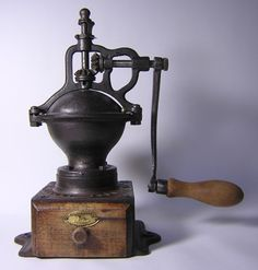 The Peugeot coffee mill of the 1950s