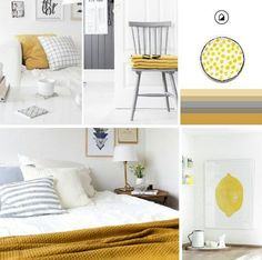 A touch of colour in the home - Mellow Yellow by The Design Bird