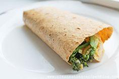Clean Eating Recipe – Broccoli-Turkey-Cheddar Wrap | Clean Eating Recipes