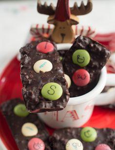 Más dulce que salado: Chocolate Christmas Bars
