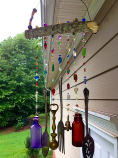 Wind Chimes from Born Again Antiques in Hogansville, GA  http://www.bornagainantiques.com/index.html