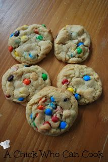 A Chick Who Can Cook: Perfect M Cookies