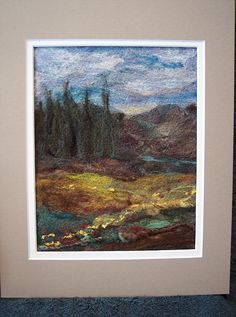 #82 Field Scape2sm by Deebs Fiber Arts, via Flickr