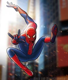 I finally managed to color at least this one of the bunch of Amazing Spider-Man film fan-art I have stashed away. The Amazing Spider-Man (Color) Marvel Heroes, Marvel Avengers, Marvel Comics, Spiderman Drawing, Spiderman Art, Amazing Spiderman, Spider Man Trilogy, Marvel And Dc Characters, Spectacular Spider Man