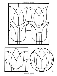 Amazon.com: Floral Stained Glass Pattern Book (Dover Stained Glass Instruction) (0800759242597): Ed Sibbett Jr.: Books