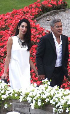 It's finally happened: George Clooney is a married man! Inside his star-studded wedding to Amal Alamuddin—soooo romantic!