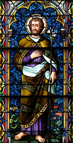 Saint Joseph : All sizes St Joseph Catholic, Catholic Art, Catholic Saints, Stained Glass Church, Stained Glass Art, Stained Glass Windows, Religious Images, Religious Art, Christian Warrior
