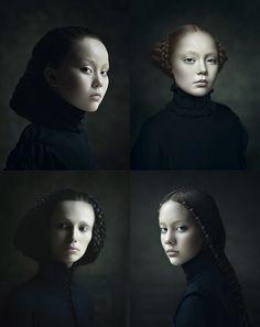 Portraits von Desiree Dolron: Irgendwie Beauty Light - irgendwie auch nicht.
