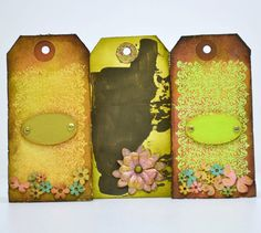 Shop for on Etsy, the place to express your creativity through the buying and selling of handmade and vintage goods. Selling On Pinterest, Scrapbook Embellishments, Tim Holtz, Gift Tags, Scrapbooking, Delivery, Etsy Shop, Note, Unique Jewelry