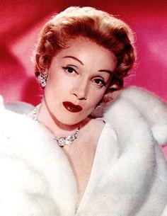 Marlene Dietrich in Fur 8x10 Photo R0680 | eBay