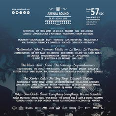 Cartel del Arenal Sound 2015