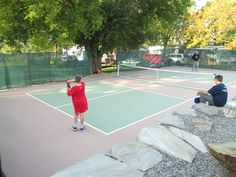 Building a Pickleball Court | Beautiful Backyard Pickleball Court