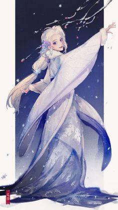 Disney Princess Art, Disney Princess Pictures, Disney Fan Art, Disney Princesses, Kawaii Anime Girl, Anime Art Girl, Fantasy Characters, Anime Characters, Character Art