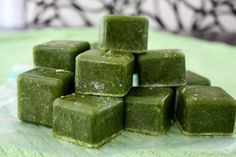 "smoothie ""base"" cubes. just add fruit and blend!"