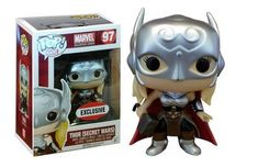 From Marvel, it's Thor Secret Wars in Funko Pop! Marvel Collector Corps Limited Edition This pop box has been classified as Good Product Dimensions: Funko Pop Marvel, Lady Thor, Marvel Secret Wars, Pop Vinyl Collection, My Collection, Pop Vinyl Figures, Funko Pop Figures, Funko Pop List, Female Thor