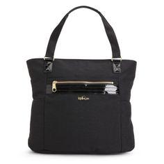 68a97e1a2 Leah Tote Bag - Black Patent Combo Mochilas, Bolsos, Carteras, Bolsos  Kipling,