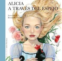 """Libro ilustrado """"Alicia a través del espejo"""" - Lewis Carroll - Nórdica Libros"""