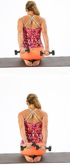 Deltoid Back Squeeze Arm Exercise, If you like it, share it!