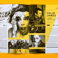 Will Miller - print + layout - Saskatchewan Jazz Festival2011