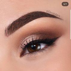 Trendy birthday makeup looks eyeshadows make up ideas Denitslava Makeup, Makeup Eye Looks, Makeup Guide, Cute Makeup, Simple Makeup, Makeup Inspo, Eyeshadow Makeup, Makeup Brushes, Makeup Ideas