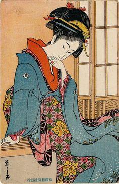 Japanese woodblock art