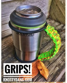 No matter what your cup/can holder get a GRIPS! www.knottydans.com