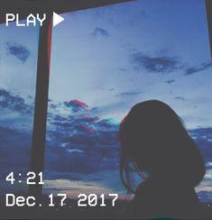 M O O N V E I N S 1 0 1 #vhs #aesthetic # sky #blue #girl