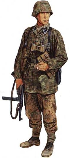 Panzergrenadier 12. Waffen SS pz div. 'Hitlerjugend', Normandy 1944 - pin by Paolo Marzioli