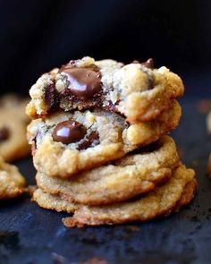 Gluten-, Egg-, and Dairy-Free Vegan Chewy Chocolate Chip Cookies | 23 Life-Changing Ways To Eat Chocolate Chip Cookies #christmas #gluten-free #recipe #easy #recipes